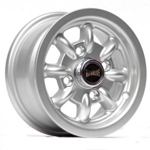ULTRALITE RALLY 10 x 4.5 INCH - ET34 101.6 x 4 SILVER METALLIC