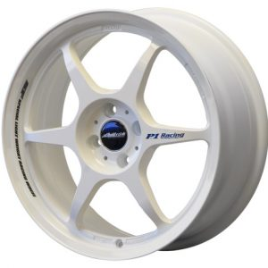 BUDDY CLUB SF 17 X 7 - ET42 - 100 X 4 - GLOSS WHITE