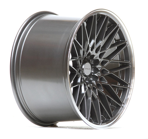 ULTRALITE 02 - 18 x 10.5 INCH - ET40 - 100+112x5 PCD GUN GREY - POLISHED RIM