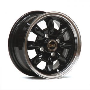ULTRALITE MINI WHEELS - 12x5J - ET30-4x101.6 PCD - GLOSS BLACK POLISHED RIM