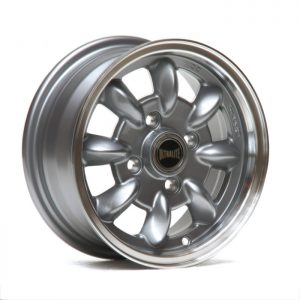 ULTRALITE MINI WHEELS 12x5J - ET30 - 4 X 101.6 PCD - GUN METAL POLISH RIM