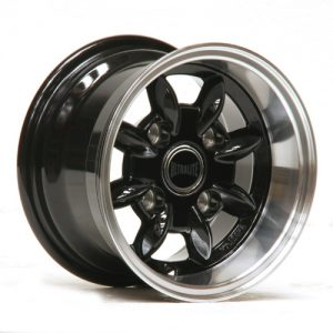 ULTRALITE CLASSIC MINI - 10 X 6J - ET-3 - GLOSS BLACK + POLISHED RIM
