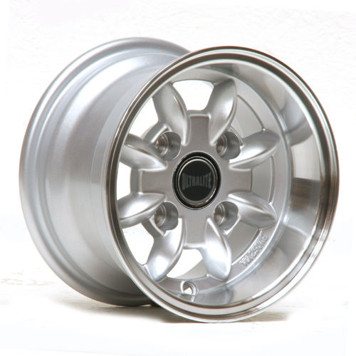 ULTRALITE CLASSIC MINI - 10 X 6J - ET-3 - SILVER + POLISHED RIM