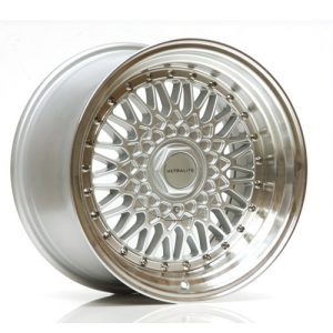ULTRALITE RS 16x9 - ET20 - 4x100+108 PCD SILVER POLISHED RIM DARK SILVER RIVET
