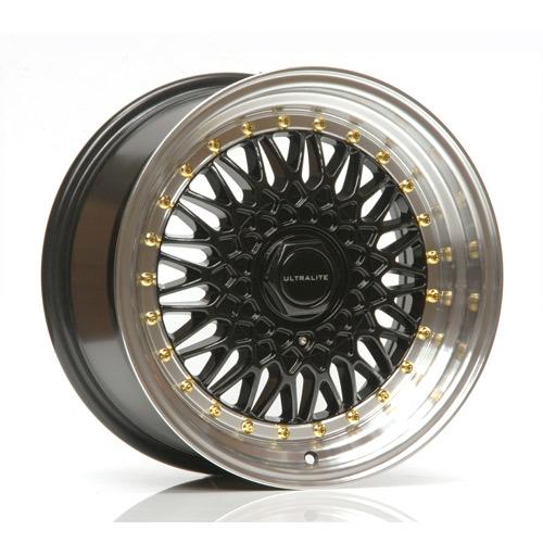 Ultralite RS in black, 16×9 0 ET20 4×100/108
