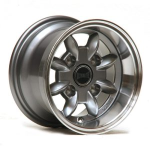 ULML7-3A / ULTRALITE CLASSIC MINI - 10 X 6J - ET-3 - GUNMETAL + POLISHED RIM