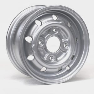 10 INCH MINI COOPER WHEELS IN SILVER - 66% LIGHTER THAN STEEL