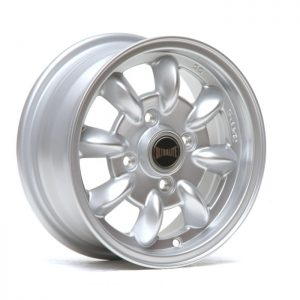 ULTRALITE MINI WHEELS 12x5J - ET30 - 4 X 101.6 PCD - SILVER